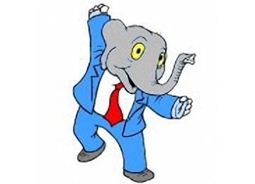 Lustige Ausmalbilder Tiere Elefant