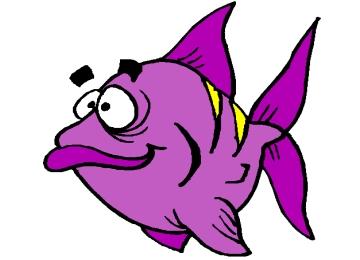 lustige ausmalbilder tiere fisch