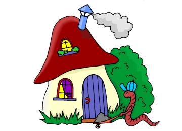 Malvorlage Regenwurm Mit Haus