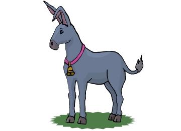 Malvorlagen Esel