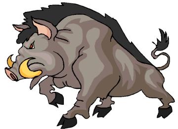 Malvorlagen Bauernhoftiere Wildschwein