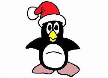Malvorlagen Weihnachten Pinguin