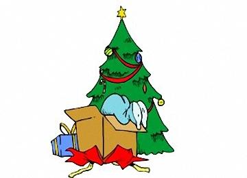 ausmalbilder weihnachtsbaum geschenken