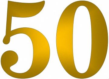Malvorlagen Zahlen 50